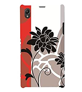 GADGET LOOKS PRINTED BACK COVER FOR Sony Xperia Z1 MULTICOLOR