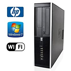 HP 8000 Elite Desktop - Intel Core 2 Duo 2.93GHz - *NEW* 1TB HDD - 4GB DDR3 - Windows 7 Pro 32-Bit - WiFi - DVD-RW (Prepared by ReCircuit)