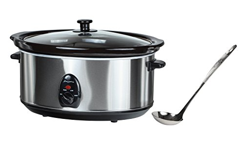 Buongustaio 6.5L Slow Cooker Sear-and-Stew 220/240V - OVERSEAS USE ONLY. FOR 220/240-VOLT OPERATION ONLY. WILL NOT WORK IN USA/CANADA (Type F (EUROPE) Schuko Plug) (Crock Pot For 220 Volt compare prices)