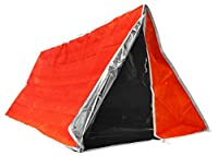 "Outdoor Tube Tent-Aluminum Coated Interior Insulates Body Heat for Extra Warmth,82"" X 36"" by Sona Enterprises"