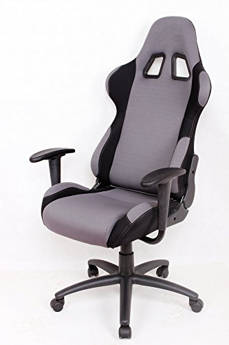 Race Car Seat Chair : Ez lounge racing car seat office jeep gaming chair gray