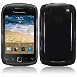 Blackberry Curve 9380 TPU Gel Skin Case / Cover - Smoke Black PART OF THE QUBITS ACCESSORIES RANGEby TERRAPIN