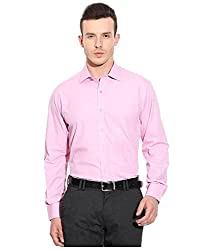 Frankline Men's Formal Shirt (Frankline-64_Pink_44)
