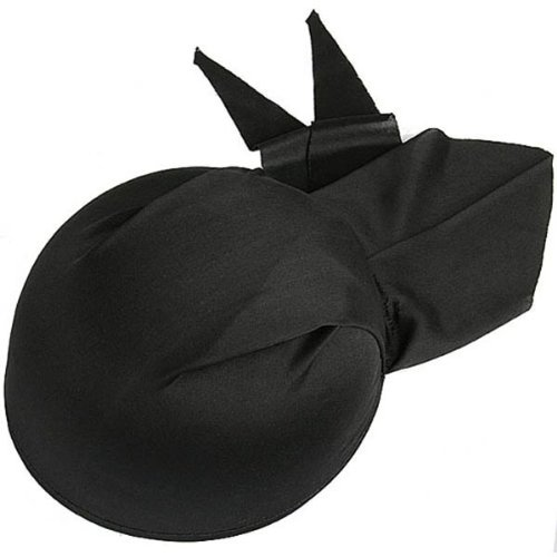 BestOfferBuy Classic Black Pirate Captain Hat Head Scarf Halloween Costume Party