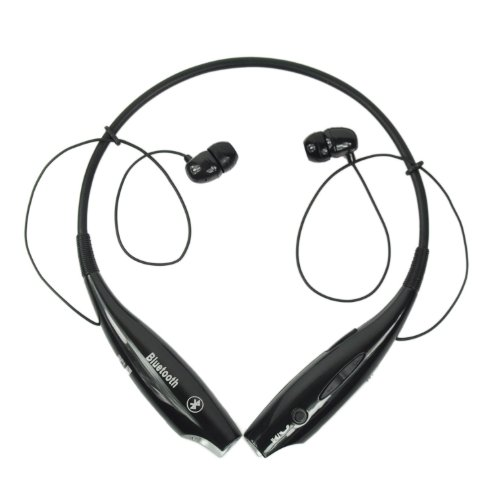 (Hv-800) Black Color Change Universal Wireless Bluetooth Handsfree Headset Earphone For Iphone Lg