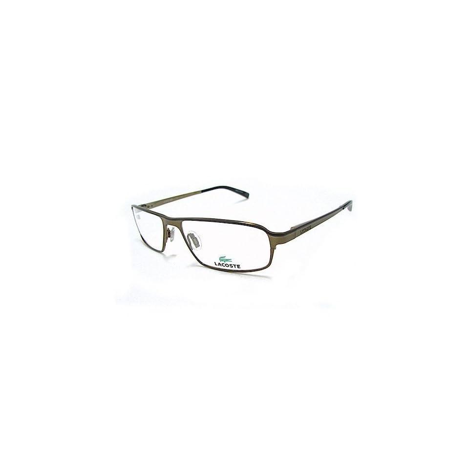 1e6a218699bf Lacoste 12057 Eyeglasses LA12057 Khaki KH Optical Frame on PopScreen