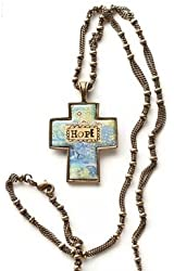 Kelly Rae Roberts Hope Cross Necklace
