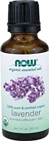 NOW Foods Organic Lavender Oil 1 ounce