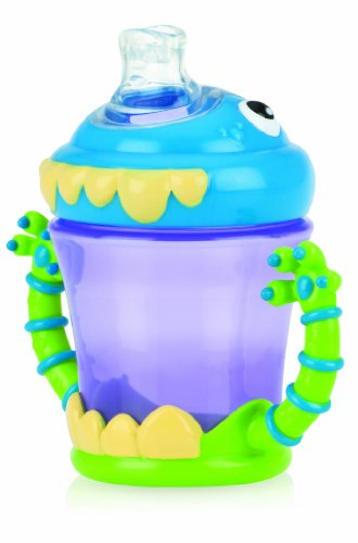 Nuby Monster 7Oz Monster 2 Handle No-Spill Sippy Cup- 4M+ front-450230
