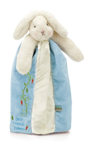 Bunnies by the Bay Bud's Buddy Blanket, Blue Bunny (Blue Bunnies compare prices)