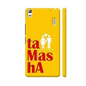 Colorpur Tamasha Designer Mobile Phone Case Back Cover For Lenovo A7000 | Artist: Woodle Doodle
