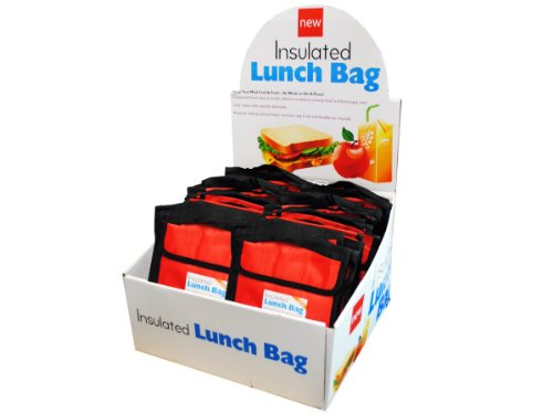 bulk buys Insulated Lunch Bag with Counter Top Display