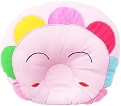 GuzelWorld Baby Sleeping Pillow (Baby Pink, Flower)