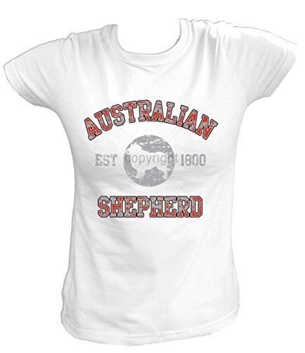 Artdiktat-Femme-T-Shirt-AUSTRALIAN-SHEPHERD-Le-berger-australien-OLD-SCHOOL-Est-1800