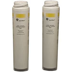 GE FQSLF Dual Stage Twist and Lock Under Counter Water Filtration System Replacement Filters (Lead/Cyst)