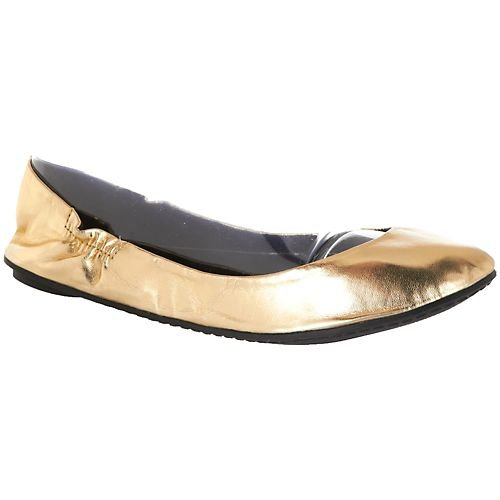 Cheap Footzyfolds Betsy Gold Ballet Flats (B009FA1LBS)
