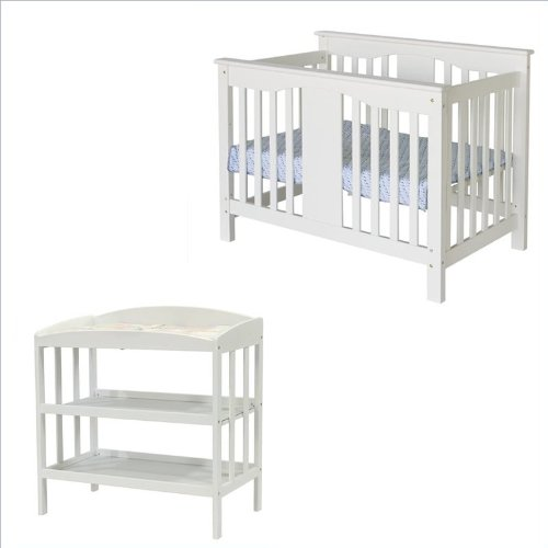 Davinci Annabelle Convertible Crib And Changing Table In Antique White