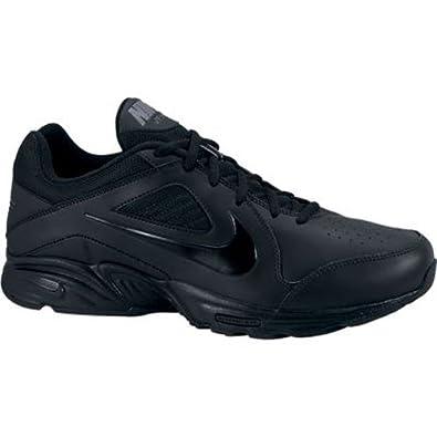 nike s view iii wide walking shoe black gray 9 5