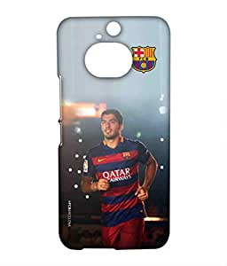 STRIKE SUAREZ Phone Cover for HTC M9 Plus by Block Print Company