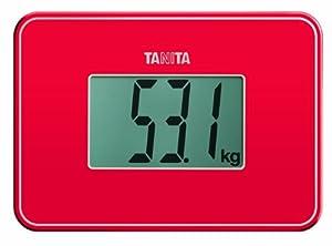 Tanita - HD-386 RD - Micro Balance de Voyage - Rouge