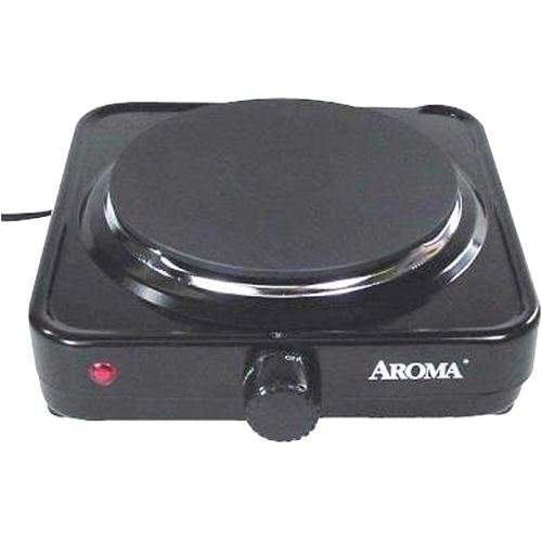 Aroma AHP-303 Single Hot Plate, Black