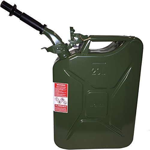 Wavian Authentic NATO Jerry Fuel Can, Green (Military Jerry Can compare prices)