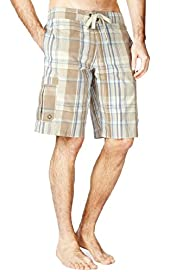 XXXL North Coast Checked Cargo Swim Shorts