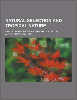 higher biology natural selection essay