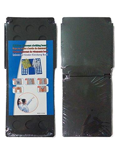 Generisches Kleidung Faltbrett-Flathilfe für Kids, falten T - Schirts, Hemden oder Jacken usw. in wenigen einfachen Schritte (schwarz)
