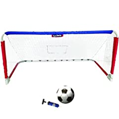 Le Petit Sports - 6ft STEEL Foldable Soccer & Hockey Goal & Rebounder with... by Le Petit Sports