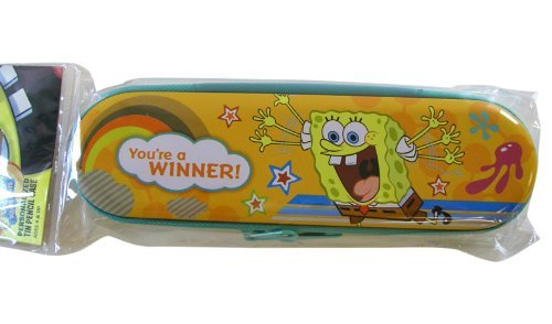 Nick Jr. Spongebob Tin Zipper Pencil Case - 1