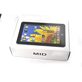 Zuweiyu(tm) 7 Inch Epad with Android 2.2 (Tablet Pc) Includes Wifi 720p Video 256mb Resistive Touch Screen