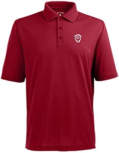 Indiana Pique Xtra Lite Polo Shirt (Team Color) by Antigua