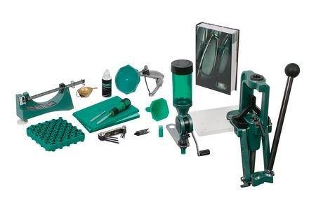 RCBS Rock Chucker Supreme Master Reloading Kit, Green