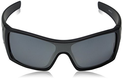 cb21cb9098 Oakley mens Batwolf OO9101-35 Iridium Polarized Sport Sunglasses