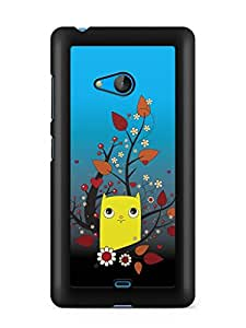 YuBingo Cartoon Designer Mobile Case Back Cover for Microsoft Lumia 540