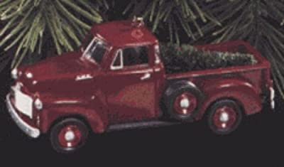 QX6105 All American Trucks #3 1953 GMC Truck 1997 Hallmark Keepsake Ornament