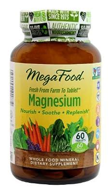 MegaFood Magnesium Tablets
