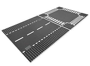 Lego City 7280 - Jeu de Construction - Routes droites et Carrefour