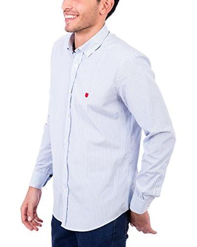 POLO CLUB Camisa Hombre Maverick Pure Azul Celeste