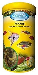 AQUARIS FLAKES - AQUARIUM FISCHFUTTER - 10 LITER