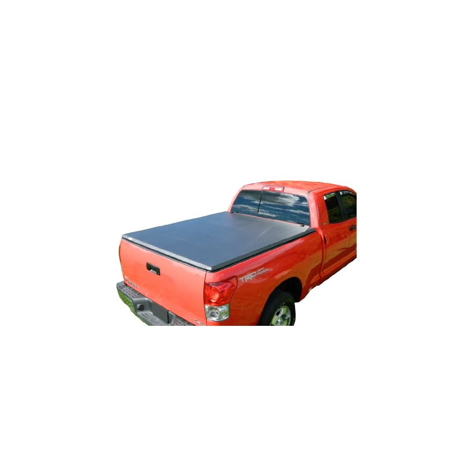 TonneauCovers4Less TMN 0465 Nissan Titan Tri Fold Tonneau Cover   6.5 Short Bed   2004 2014   Black
