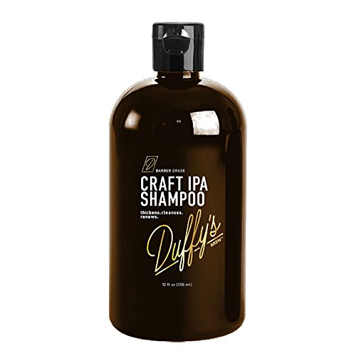 Duffy's Brew Premium IPA Craft Beer Shampoo - 12 fl oz. Sulfate, Paraben & Phthalate Free. 100% Vegan. Moisturizes, Nourishes, Seals, Protects & Color Safe ... (12 fl oz) (Craft Beer Shampoo compare prices)