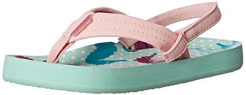 Reef Little Ahi Flip Flop (Toddler/Little Kid/Big Kid) платье tutto bene tutto bene tu009ewtct57