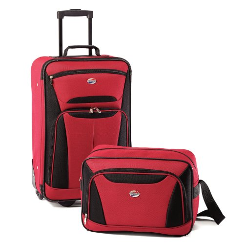 american-tourister-luggage-fieldbrook-ii-2-piece-set-red-black-one-size