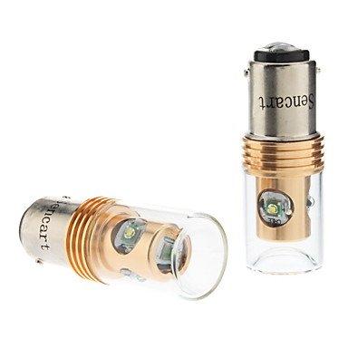 Zcl 1142 12W White Light Cree Led Bulb For Car Fog Lamp (Dc 12-24V, 1-Pair)