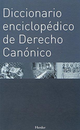 DICCIONARIO GENERAL DE DERECHO CANONICO