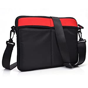 Kroo® Premium Neoprene Tablet Bag Universal fit for Ematic E Glide Prism - 4 Colors Available from Kroo