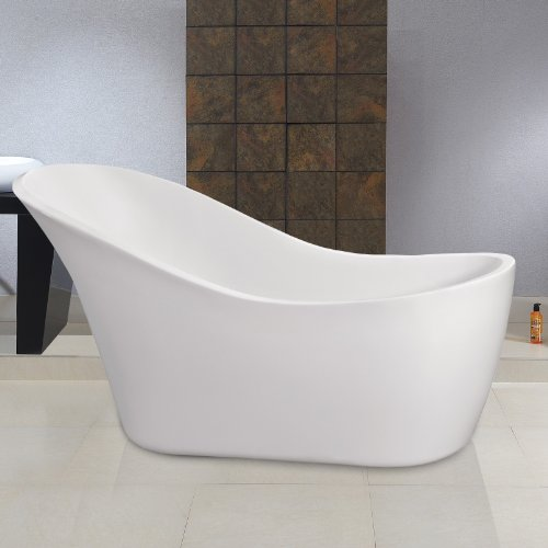MODERN FREESTANDING SLIPPER ROLL TOP BATH TUB