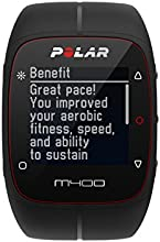 Polar M400 HR Montre cardio/GPS multisport avec ceinture cardiaque Noir